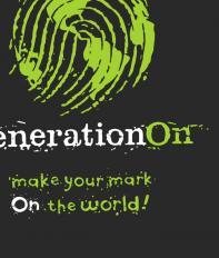 generationOn + tagline lockup