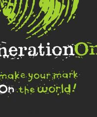 generationOn + tagline lockup