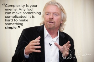 Richard Branson Offers Maxim for Brand Success: Simplicity